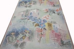 Midcentury wallpaper no A6117