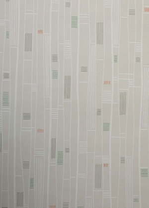 Midcentury wallpaper no A6121