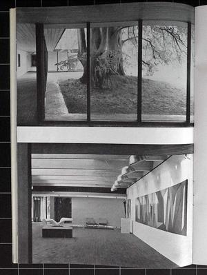 Arkitektur 1959/5 Le Corbusier, Louisiana, Biskopsgården, Moskva, Ryssland.